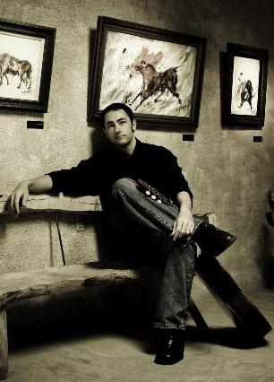 Domingo DeGrazia in the DeGrazia Gallery of the Sun, photo by Rachel at Litha photography